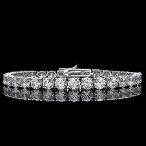 Women's Diamond Bracelet 925 Sterling Silver 25TCW